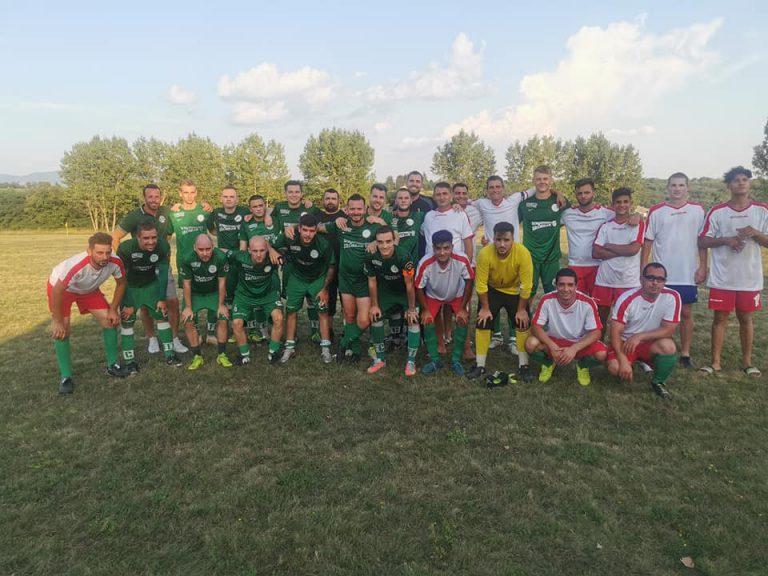 Edzőmérkőzésen játszott döntetlent a Fradi szurkolói csapatával az Ecseg